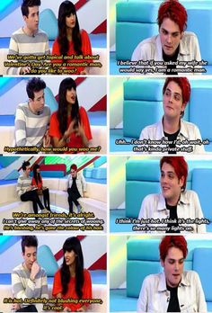 Gerard Way | cute / funny moments