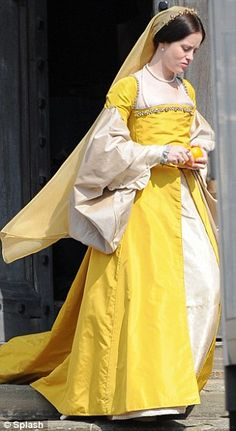 Claire Foy as Anne Boleyn in the BBC adaptation of Wolf Hall.