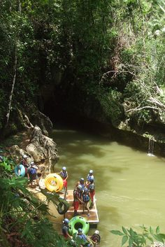 Nohoch Che'en Caves Branch (Belize). 'After entering the Nohoch Che'en Caves Branch you'll float through an underground network, experiencing wonders unseen in the world above, from eyeless cave fish, to stalactites and strange Maya paintings high on the cave ceilings.' http://www.lonelyplanet.com/belize