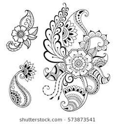 348 Mejores Imagenes De Mandalas Dibujos Flores Zentangle En 2019
