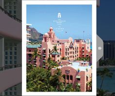 """Built in 1927, the iconic Royal Hawaiian Resort, known as the """"Pink Palace of the Pacific"""", ushered in a new era of luxurious resort travel to Hawaii.    The Royal Hawaiian #Sales Kit #WebBook highlights their personalized services and singular meeting experiences.  -"""