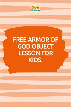 Capture kids' attention with this crazy object lesson involving trash bags & water guns—and, at the same time, teach kids to put on the whole Armor of God. These types of hands-on games & activities grab kids' interest from the get-go, which makes the rest of your lesson easier! Perfect for VBS, Sunday School, or homeschool. Click through for Armor of God Intro Activity instructions—plus a free printable lesson plan! Teaching Kids, Teaching Resources, Armor Of God Lesson, Family Bible Study, Water Guns, Bible Lessons For Kids, Object Lessons, Teaching Materials, Activity Games
