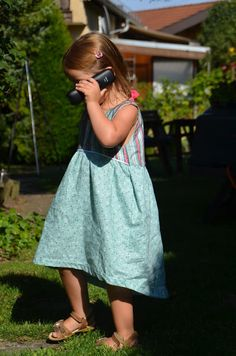 GagaYa: Kleidchen Bohemian Baby Doll Dress.