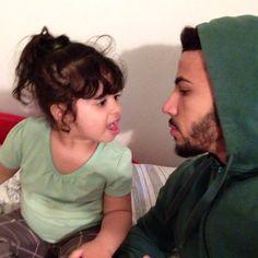Reema and Adam♥ He Makes Me Smile, Make Me Smile, Adam Saleh, Singles Day, Cute Love, Future Husband, Youtubers, Famous People, Cute Babies