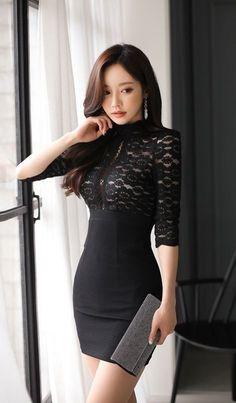 Korean Beauty, Asian Beauty, Natural Beauty, Asian Fashion, Girl Fashion, Looks Pinterest, Sexy Outfits, Fashion Outfits, Chica Fantasy