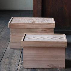 Hako-Zen were originally designed to serve as a combination storage box and tray table. They were widely used in in Japan from the Edo Period to the beginning of the Showa Era. Each wooden box was used as a portable table (with the lid as a tray) and also
