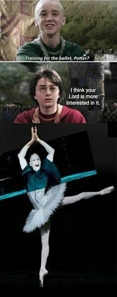 Ballet dancer Voldemort