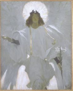 "Howard Pyle ""Why Seek Ye the Living in the Place of The Dead""."