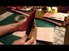 Tutorial: Miniálbum con 7 bolsillos (segunda parte)