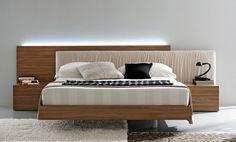 uzun yatak basi modelleri ahsap metal aksesuarli basucu aydinlatmalar cekmece ve raflar (6)