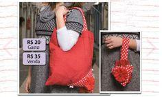 Saiba como criar uma ecobag de tecido estampado com este tutorial! Cansou de usar sacos plásticos? Q