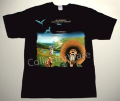 VAN MORRISON Hard Nose the Highway CUSTOM ART UNIQUE T-SHIRT Each T-shirt is individually hand-painted, a true and unique work of art indeed!  To order this, or design your own custom T-shirt, please contact us at info@collectorware.com, or visit http://www.collectorware.com/tees-vanmorrison_andrelated.htm