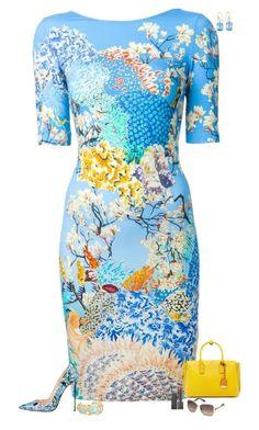 Mary Katrantzou Short Dress In Azure Tube Dress, Pencil Dress, Straight Dress, Lovely Dresses, All About Fashion, Dress Patterns, Pattern Dress, Dress Backs, Mary Katrantzou