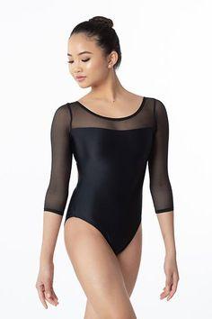 68b301f822f2 23 Best black LEOTARDS images in 2018   Black leotard, Ballerinas ...