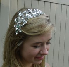Rhinestone headpiece