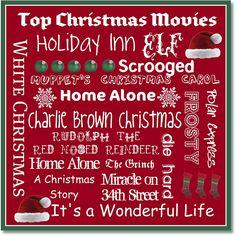 List of the top Christmas Movies. Top Christmas Movies, Christmas Books, Christmas Quotes, Little Christmas, Christmas Carol, All Things Christmas, Winter Christmas, Christmas Crafts, Christmas Ideas