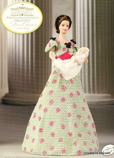 Frances Cleveland and Baby First Ladies of America by CHpatterns