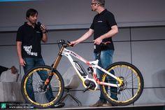 Das neue Haibike XDRUO Downhill Pro soll dem Fahrer ein Fahrgefühl zwischen Downhill und Motocross vermitteln.