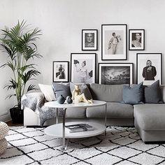 Scandinavian Interior Design, Scandinavian Home, Photo Instagram, Interior Inspiration, Family Room, New Homes, Photos, House Design, Living Room