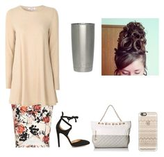 """""""⛪"""" by davidsredhead ❤ liked on Polyvore featuring Glamorous, Gianvito Rossi and Casetify"""