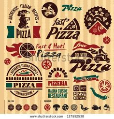 Find Pizza Labels Collection stock images in HD and millions of other royalty-free stock photos, illustrations and vectors in the Shutterstock collection. Pizza Branding, Pizza Logo, Pizza Pi, Pizza Bake, Pizza Party, Site Pizza, Pizza Shack, Menu Design, Logo Design