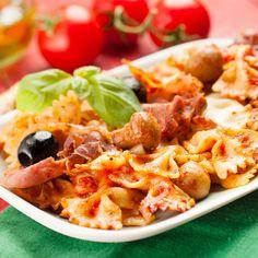 One pot pasta façon pizza