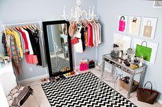 Cute dressing room