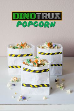 Family movie night is made sweeter with this easy to make popcorn inspired by the new Netflix original series.