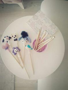 #amigurumi#pencils