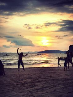 Sunset - Railay Beach West, Thailand