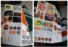 Paper portfolios: 5 beautiful examples to inspire you | Portfolios | Creative Bloq