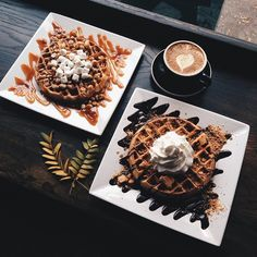 Black: Coffee and Waffle Bar  1500 Como Ave SE Minneapolis 55414  open daily 7 am to 11 pm