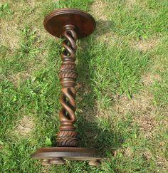 Best 12 Antique Set Of 8 Spiral Turned Barley Twist Oak Posts 400 x 300