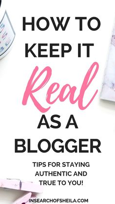 For many beginner bloggers, it can be difficult when you first start your blog to stay true to yourself, while trying to grow your blog and social media platforms such as Instagram and Twitter. Click here to read 7 ways to keep your blog authentic and how to organically grow your blog and audience. For more blogging tips go to insearchosheila.com