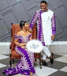 Couples African Outfits, Best African Dresses, African Traditional Dresses, Latest African Fashion Dresses, Couple Outfits, African Print Fashion, Ghana Traditional Wedding, Traditional Wedding Dresses, African Wedding Attire