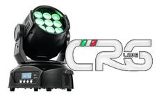 Testa mobile LED TMH-90 9x10w RGBW wash con zoom 5-22 gradi
