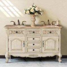 neutrals.quenalbertini: How to update a vintage sideboard | Bohemian & Chic