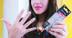nail art em 5 min first kiss nail dress adeviso unhas (5)
