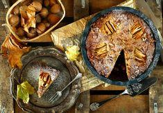 Egyszerű almás-diós süti   Street Kitchen Cheese, Dios