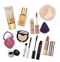 """""""Everyday Makeup Routine"""" by mayacblls on Polyvore featuring beauty, Estée Lauder, Anastasia Beverly Hills, Becca, Too Faced Cosmetics, Bare Escentuals, Smashbox, Urban Decay and tarte"""