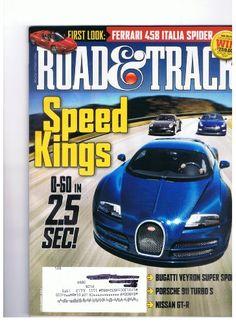 Road & Track Magazine November 2011 Speed Kings « Library User Group