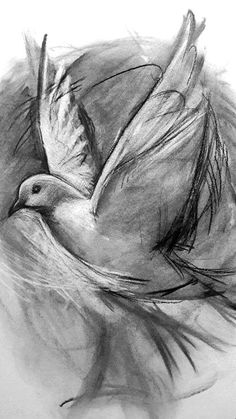 Freedom and Peace Prophetic Artwork by Dion James Raath Charcoal, Freedom, Peace, Artwork, Inspiration, Liberty, Biblical Inspiration, Political Freedom, Work Of Art