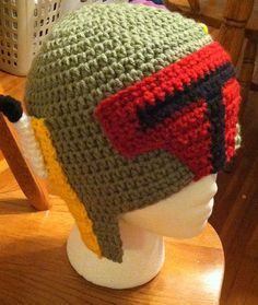 Boba Fett Hat Teen/Adult Sizes by jhcrafter on Etsy, $20.00