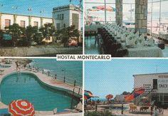 Nº 12957 POSTAL ALCANAR TARRAGONA HOSTAL MONTECARLO