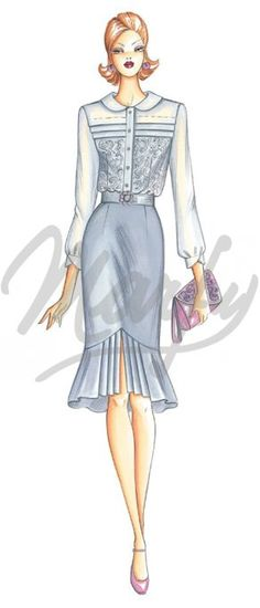 cartamodello Camicie / Casacche 3070