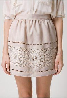 chrochet skirt