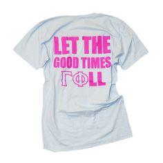 Gamma Phi Beta Bid Day Shirt- custom group order  www.crescentcorner.com