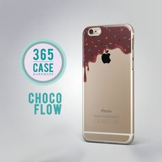 Choco Flow iPhone 6 Case Clear Chocolate iPhone 6S Case by 365case
