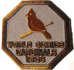 1926 World Series Championship Logo