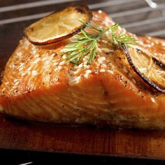 Planked Salmon - Sprouts Farmers Market - sprouts.com #GreatGrillin